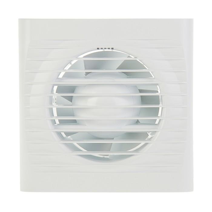 Вентилятор вытяжной AURAMAX OPTIMA 4С, 150х150 мм, d=100 мм, 220‒240 В, с обратным клапаном