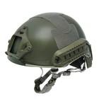 Шлем для страйкбола KINGRIN FAST helmet MH version (Grey) HL-05-MH-G