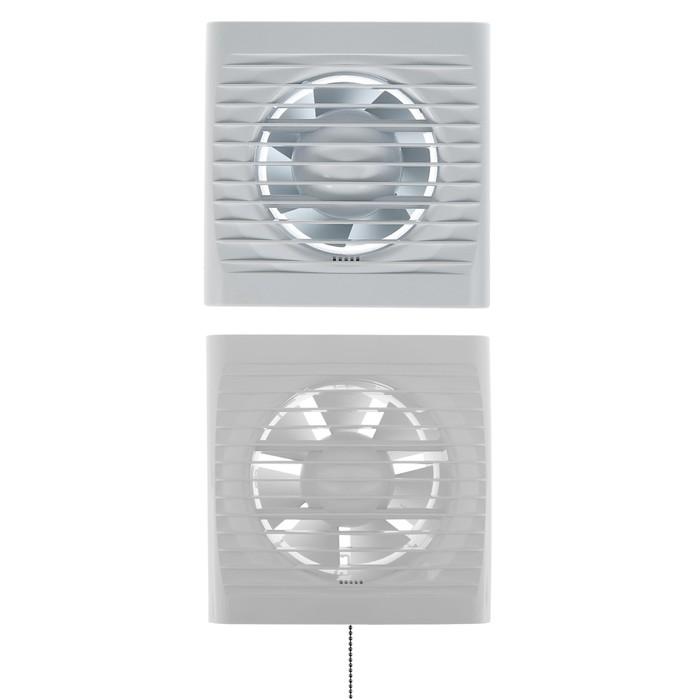 Вентилятор вытяжной AURAMAX OPTIMA 4-02, 150х150 мм, d=100 мм, 220‒240 В, с выключателем