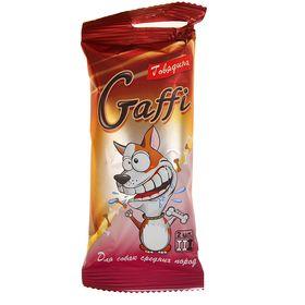 Лакомство GAFFI для собак средних пород для чистки зубов, говядина, 70 г Ош