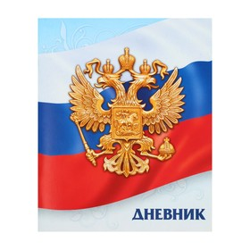 """Diary 1-11 universal class """"state symbols of Russia-3"""", soft cover"""