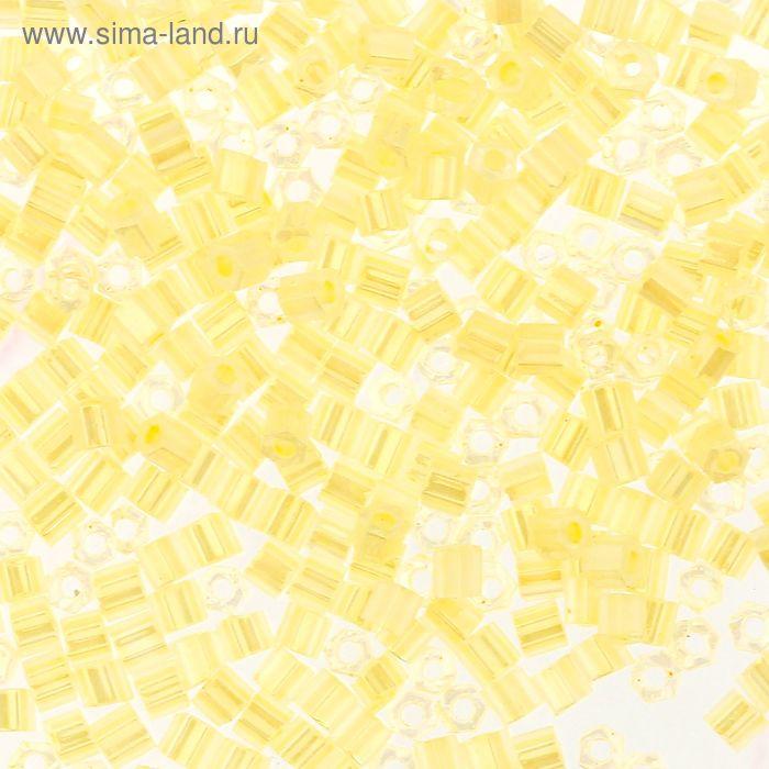 "Бисер Япония ""TOHO"" Hexagon №3, 11/0, 5гр (0142 бл.желт./перл.)"