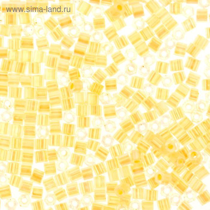 """Бисер Япония """"TOHO"""" Hexagon №3, 11/0, 5гр (0901 св.кремовый/перл.)"""