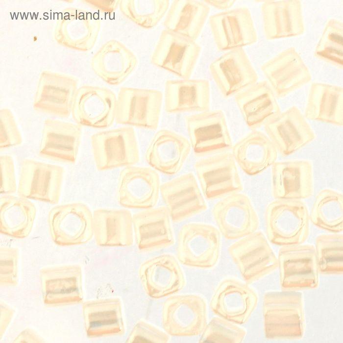 "Бисер Япония ""ТОНО"" Cube №2, 3 мм, 5гр (0141 белый/перлам.)"