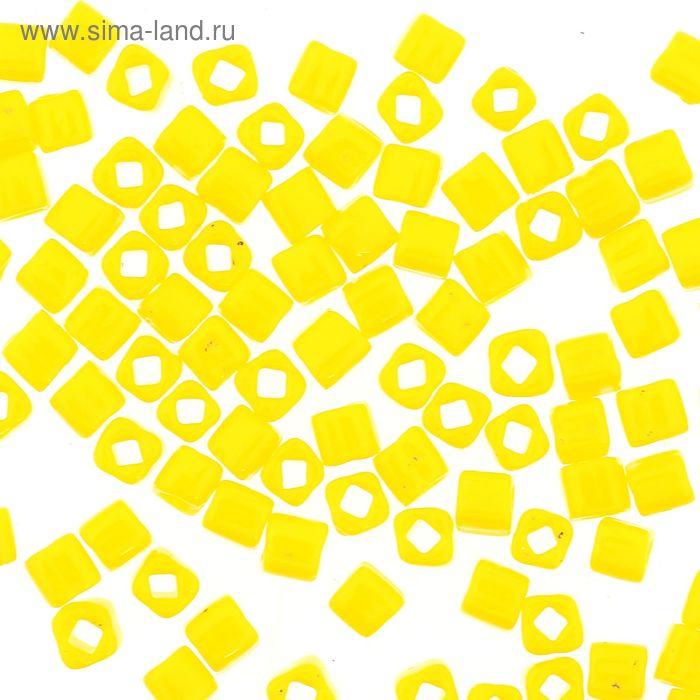"Бисер Япония ""ТОНО"" Cube №2, 3 мм, 5гр (0042 лимонный)"