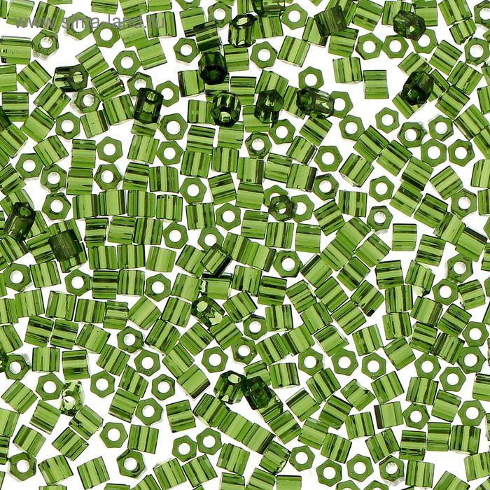 """Бисер Япония """"ТОНО"""" Hexagon №1, 11/0, 5гр (0940 травяной)"""