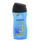 Гель для душа,шампунь и гель для умывания для мужчин Adidas Sport Energy , 250 мл