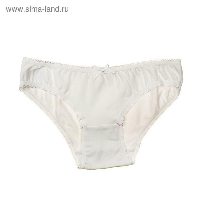 Трусы для девочки, рост 134-140 см (36), цвет белый (арт. 431К-157)