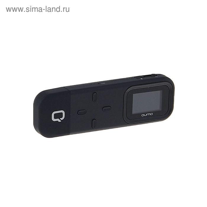 "MP3 плеер Qumo Simple Black, 4 Гб, дисплей 1.2"", USB 2.0, card slot, черный"