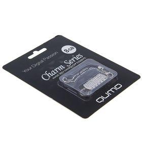 Подарочная USB-флешка Qumo 8Gb Charm Series, белая