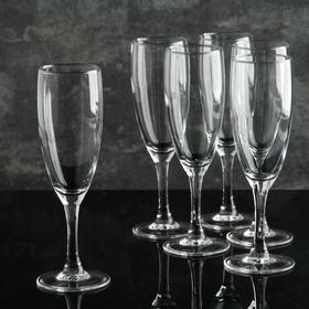 A set of champagne glasses 170 ml