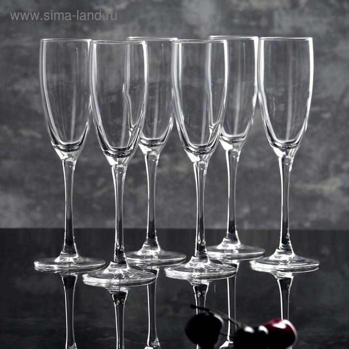 """Набор фужеров для шампанского 170 мл """"Эталон"""", 6 шт"""