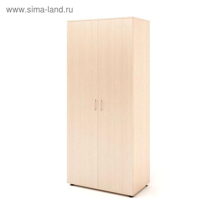 Шкаф 5 полок 800х450х1830, белёный дуб