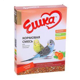 Корм «Ешка» для волнистых попугаев, с полезными овощами, 500 г