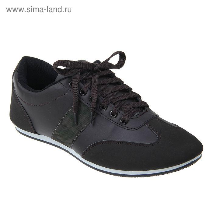 Кроссовки мужские, цвет коричневый, размер 45 (арт. LKM00071-08)