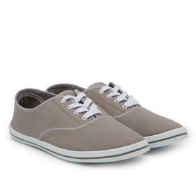 Кеды мужские, цвет серый, размер 42