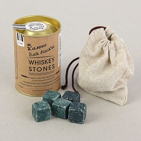 "A set of ""Whisky Stones"", 12 PCs in a tube"