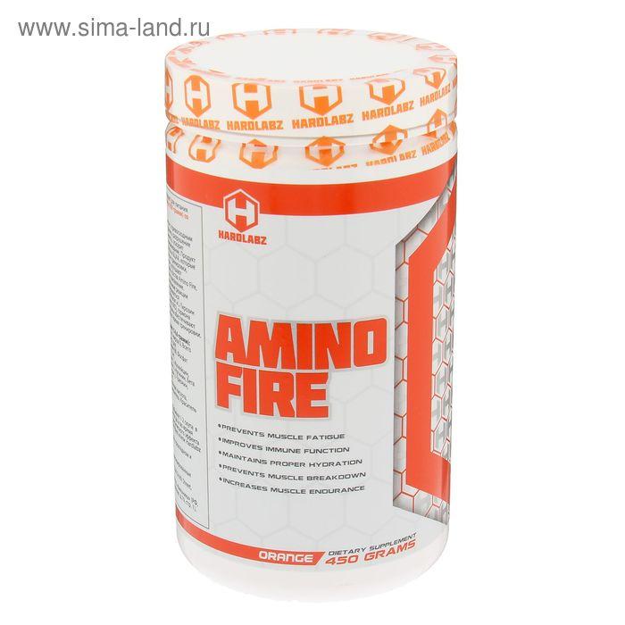 Аминокислоты Hardlabz Amino Fire апельсин 450г