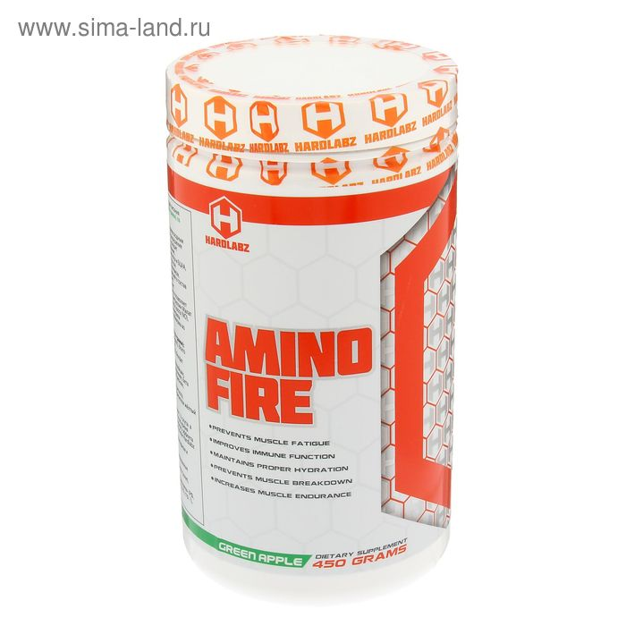 Аминокислоты Hardlabz Amino Fire яблоко 450г