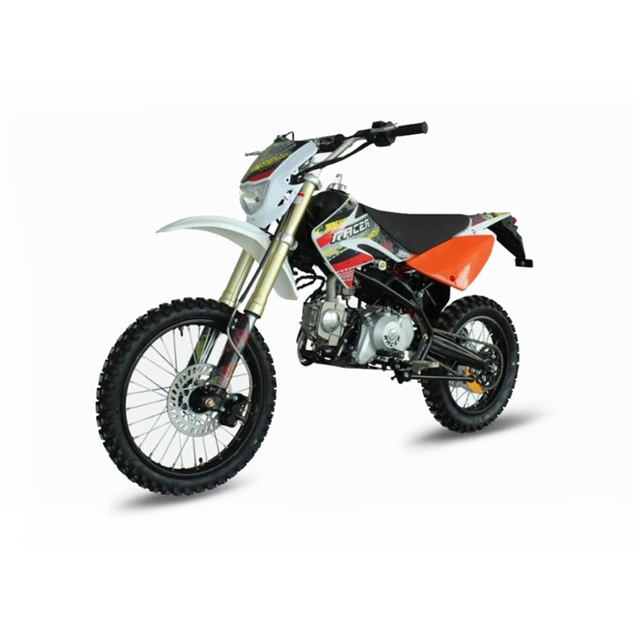 Мотоцикл Racer RC125-PE Pitbike, оранжевый