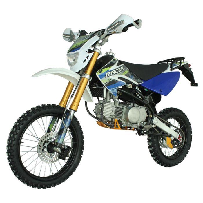 Мотоцикл Racer RC125-PM Pitbike, синий