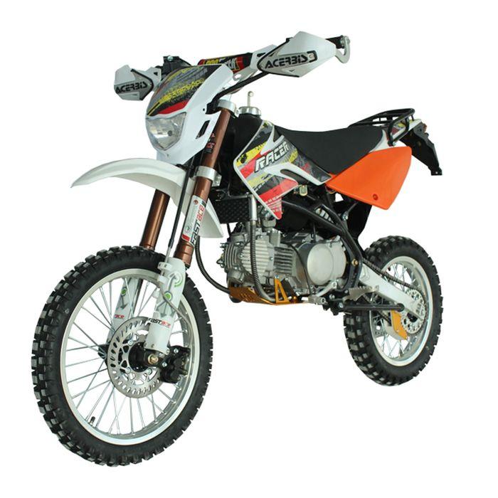 Мотоцикл Racer RC160-PH Pitbike, оранжевый