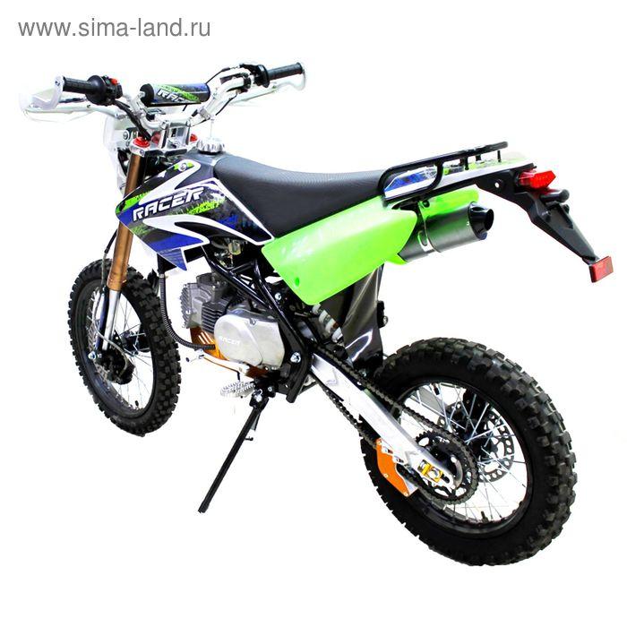 Мотоцикл Racer RC160-PM Pitbike, зелёный