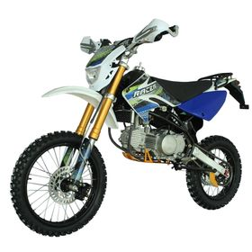 Мотоцикл Racer RC160-PM Pitbike, синий