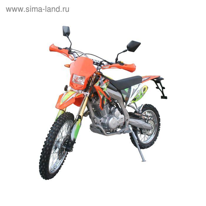 Мотоцикл Racer RC200XZT Enduro, оранжевый