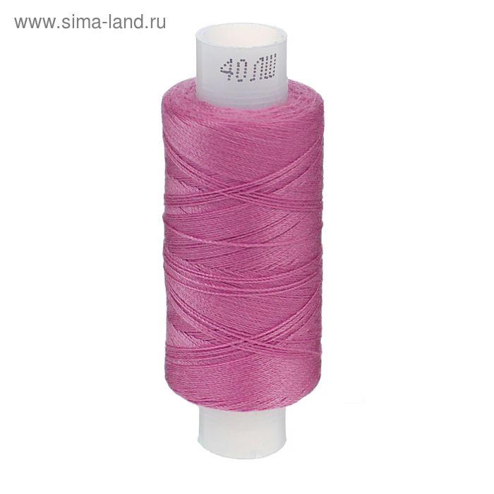 Нитки 40ЛШ, 200м, цвет розовый (№36)