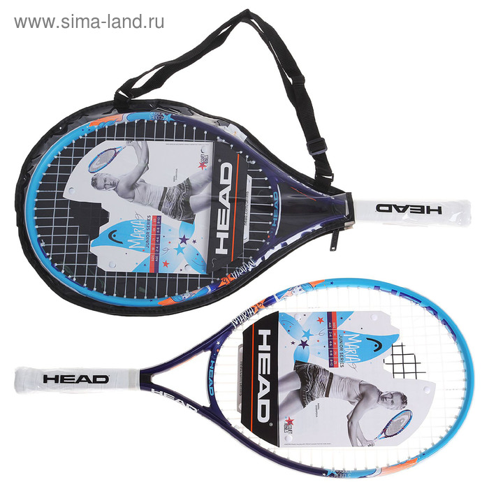 Ракетка для большого тенниса детская HEAD Maria 23 S05, алюминий, со струнами
