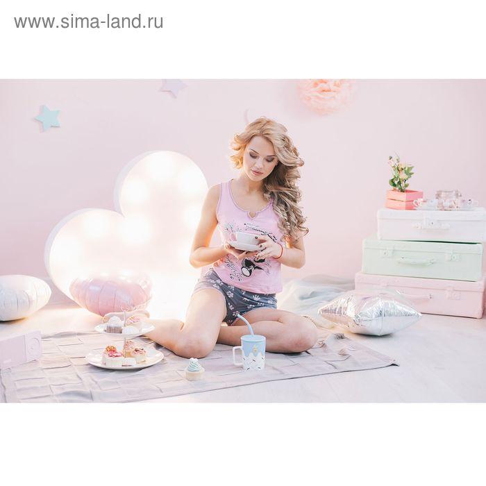 Комплект женский Ника розовый, р-р 42