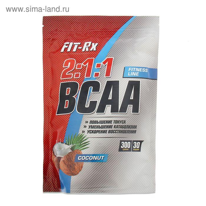 Аминокислоты Fit-RX BCAA 2:1:1 кокос  300г