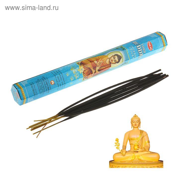 Благовония шестигранник HEM Hexa Lord buddha Господь Будда 20 палочек в упаковке