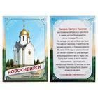 """Magnet bilateral """"Novosibirsk"""""""