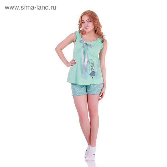 Пижама женская Прованс 220841 мята, р-р 48