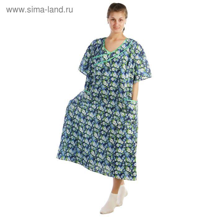 Платье женское Ландыш, цвет микс, размер 58