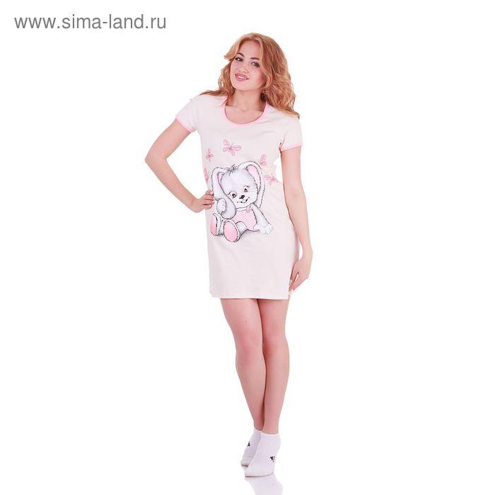 Туника женская Милашка 238741 персик, р-р 42