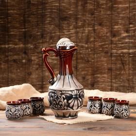 """Набор для вина """"Султан"""", 7 предметов в наборе, 1,5 л/0,1 мл"""