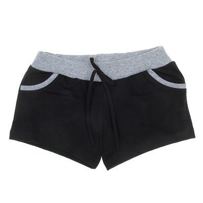 Шорты для девочки, рост 158-164 см (42), цвет чёрный
