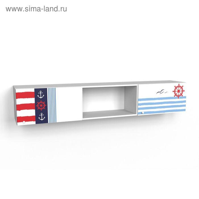 Шкаф многоцелевой надкроватный с двумя фасадами Юнга 1942*360*316 Белый