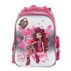 Рюкзак каркасный Mattel Ever After High Super bag 39*33*20, эргономичная спинка, для девочки, розовый