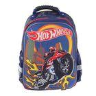 Рюкзак каркасный Mattel Super bag 39*33*20, эргономичная спинка, для мальчика, HW, синий