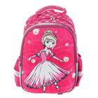 """Рюкзак каркасный Limpopo Super bag 39*33*20, для девочки, """"Принцесса"""", розовый"""