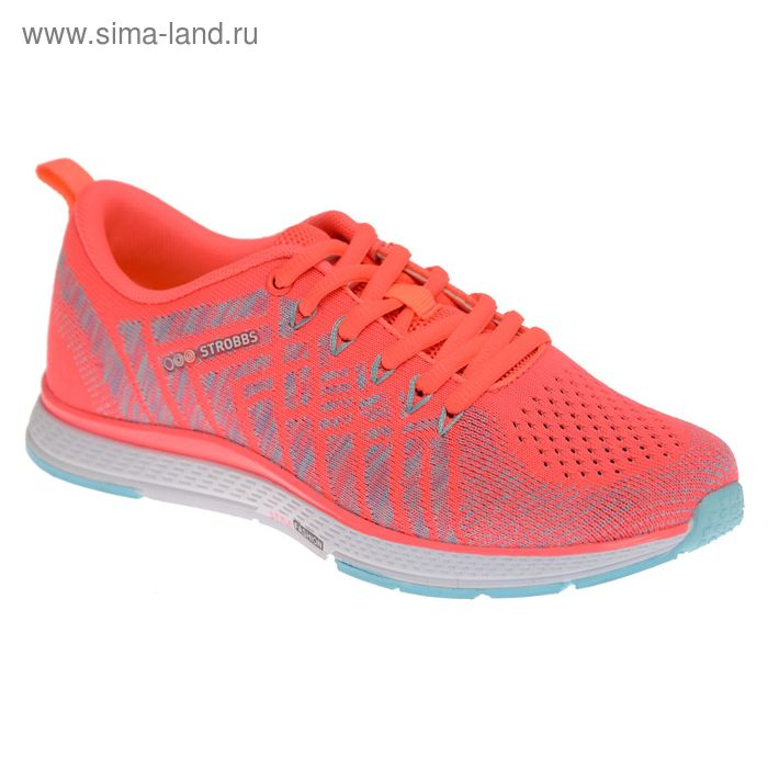 Кроссовки женские STROBBS, цвет розовый, размер 39 (арт. F6396-11)