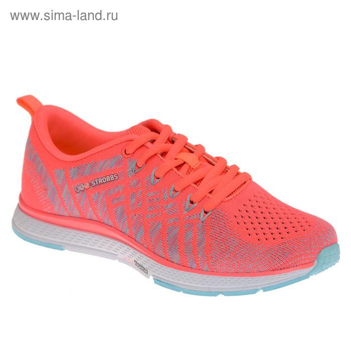 Кроссовки женские STROBBS, цвет розовый, размер 38 (арт. F6396-11)