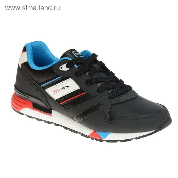 Кроссовки мужские STROBBS, цвет чёрный, размер 42 (арт. С2300-3)