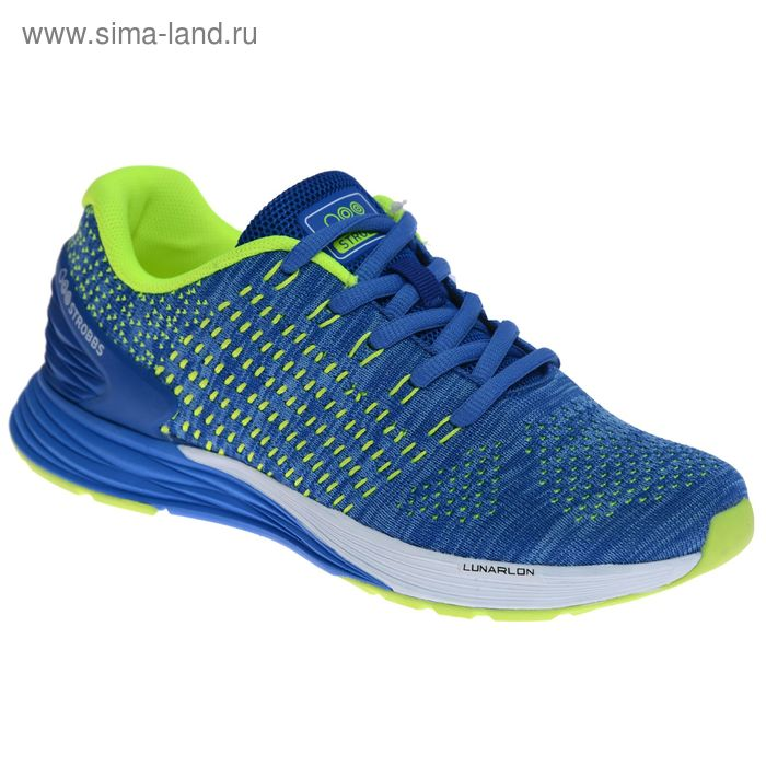 Кроссовки женские STROBBS, цвет ярко-синий, размер 37 (арт. F6400-22)