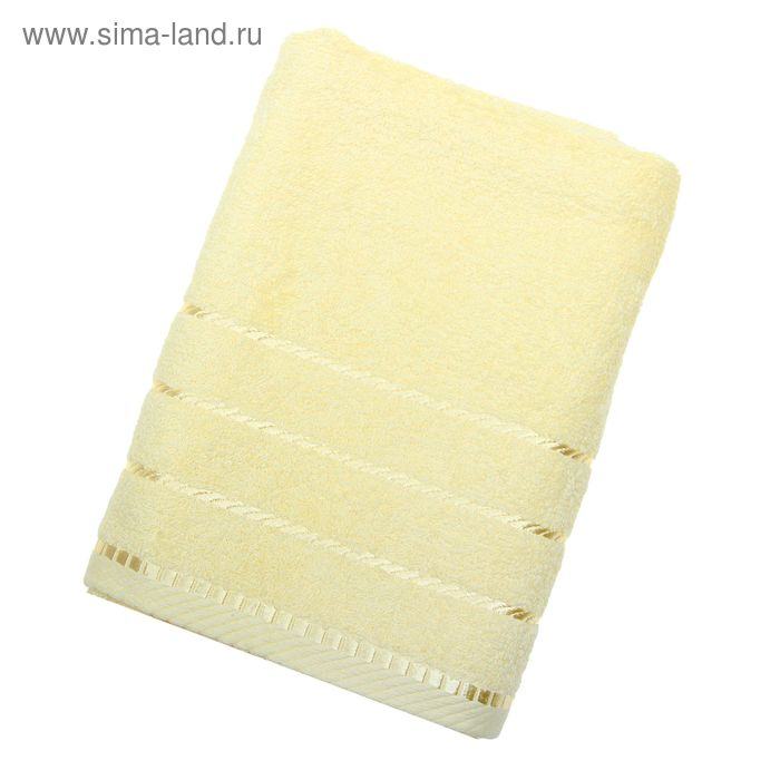 Полотенце махровое BERLIN Uni, размер 50х100 см, 470 г/м, цвет ваниль