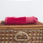Полотенце махровое BERLIN Streifen, размер 50х100 см, 470 г/м2, цвет белый/песочный